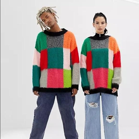 ASOS Sweaters - ASOS Collusion Unisex Oversized Sweater